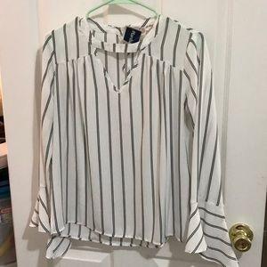 Flowy Striped Shirt BRAND NEW